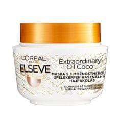 Loreal Paris Elseve Extraordinary Oil hajpakoláskókuszolajjal normál és száraz, nahezen kezelhető hajra 300 ml