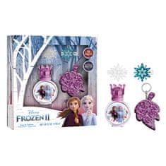 EP LINE Disney Frozen - EDT 30 ml + sponky do vlasů + klíčenka + samolepky