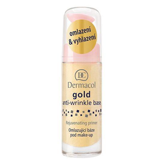 Dermacol Baza odmładzająca pod makijażem ze złotem ( Anti-Wrinkle Base) Gold ( Anti-Wrinkle Base)