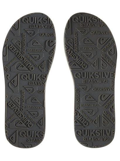 Quiksilver Moške japonke Carver Nubuck Demitasse / Solid AQYL100623-CTK0