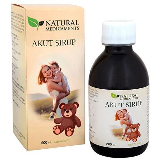 Natural Medicaments Akut sirup 200 ml
