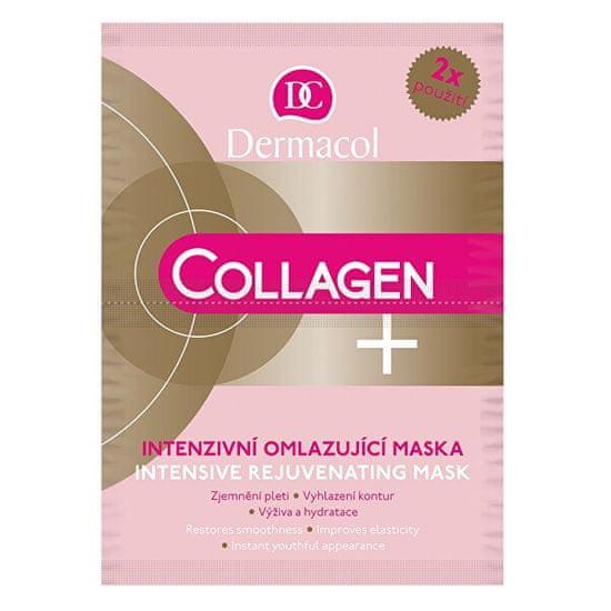 Dermacol Intenzivno obnovitveni maska Collagen plus (Intensive Rejuven ating Face Mask) 2 x 8 g