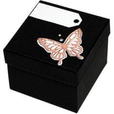 Giftisimo Luksuzna darilna škatla z bronasto kravato