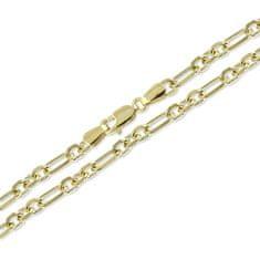 Brilio Zlata zapestnica za moške 23 cm 261 115 00276
