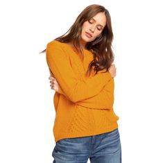 Roxy Ženski pulover Glimse Of Romance Gold en Glow ERJSW03276-YKS0 (Velikost XS)