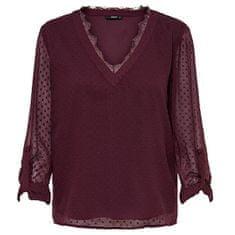 ONLY Ženska bluza ONLMACY L / S ZGORNA TOP WVN Port Royale (Velikost 38)