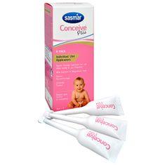 Adiel Conceive Plus - lubrikační gel pro podporu početí s aplikátorem 8x4 g