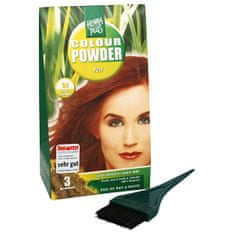 Hennaplus Prírodná prášková farba (Colour Powder) 100 g (Odtieň ZLATÁ BLOND 50)
