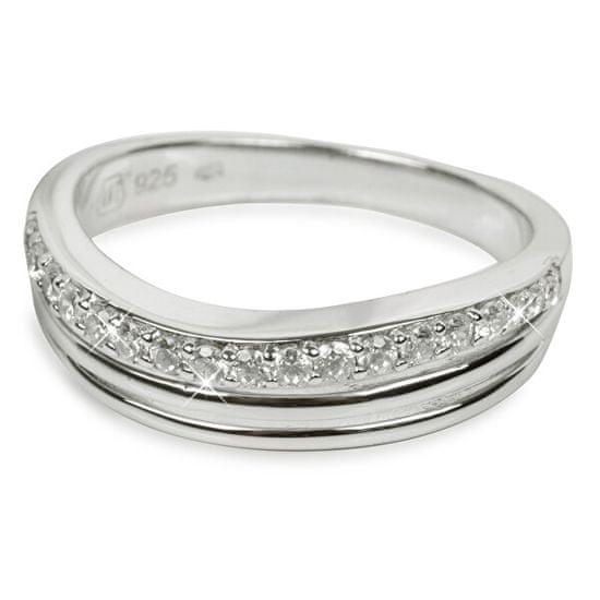Silver Cat Ezüst gyűrű kristályokkal SC037 ezüst 925/1000