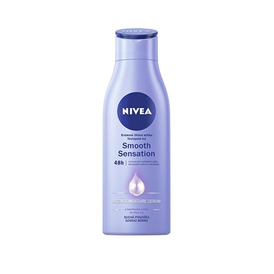 Nivea Krémové tělové mléko pro suchou pokožku Smooth Sensation