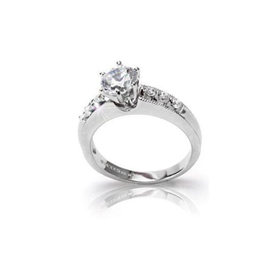 Modesi Eljegyzési gyűrű QJRY4059L ezüst 925/1000