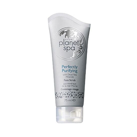 Avon Planet Spa čistilni piling (Face Scrub Perfectly Purifying with Dead Sea Mineral s) 75 ml