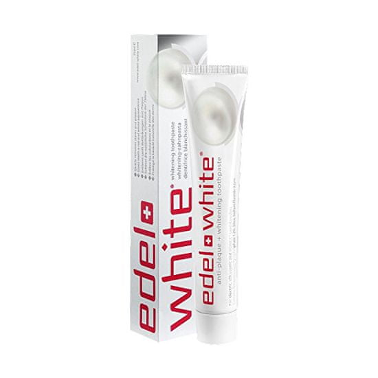 edel+white Zubní pasta Anti-Plaque+Whitening 75 ml