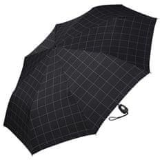 Esprit Pánský skládací deštník Gents Mini Tecmatic Check Black