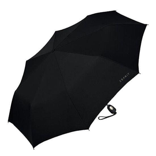 Esprit Moški zložljivi dežnik za auto žimnico Gents Mini Tecmatic Black
