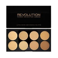 Makeup Revolution Ultra krycie paletka ( Ultra Cover and Conceal) (Odtieň Light)