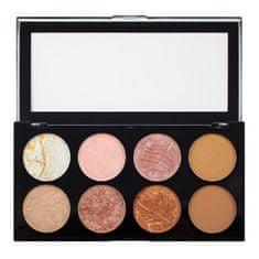 Makeup Revolution Blush paletta (Ultra Blush és kontúr) (árnyalat Hot Spice)