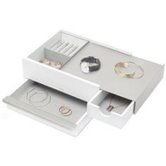 Umbra Škatla za nakit STOWIT bela / niklja 290245670