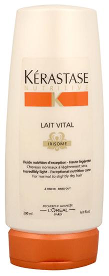 Kérastase Negovalna nega za normalne in rahlo suhe lase (Lait Vital Irisome Nutrition Care) 200 ml