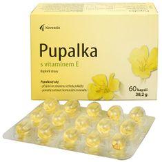 Noventis Pupalka s vitamínom E 60 kapsúl