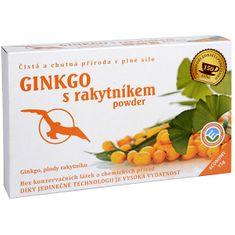 Hannasaki Ginkgo s rakytníkom powder - ginkgo, plody rakytníka 75 g