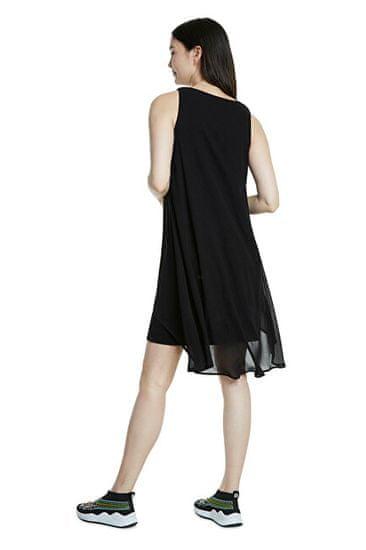 Desigual Női ruha Vest Barrie Negro 20SWVW56 2000