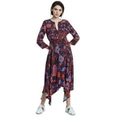 Desigual Ženska obleka Vest Hudson Sunset 20SWVW29 7026 (Velikost 40)