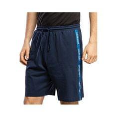 Calvin Klein Pánské kraťasy Medium Jersey Short KM0KM00466-CBK Black Iris (Velikost M)