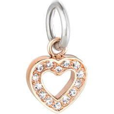 Morellato Ocelový přívěsek Drops Charms Heart SCZ617