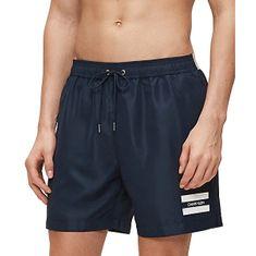 Calvin Klein Moške plavalne kratke hlače KM0KM00430-CBK (Velikost M)
