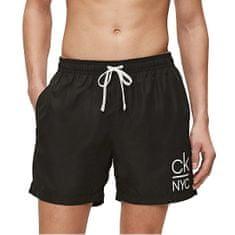 Calvin Klein Moške plavalne kratke hlače KM0KM00440-BEH (Velikost S)