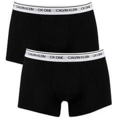 Calvin Klein 2 PAKET - moški bokserji CK One NB2385A -BNM (Velikost S)
