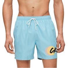 Calvin Klein Moške plavalne kratke hlače KM0KM00431-CAE (Velikost S)