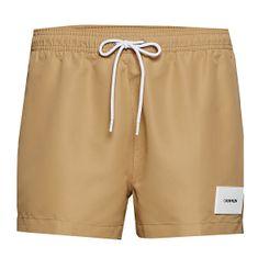 Calvin Klein Moške plavalne kratke hlače KM0KM00448-PF2 (Velikost S)