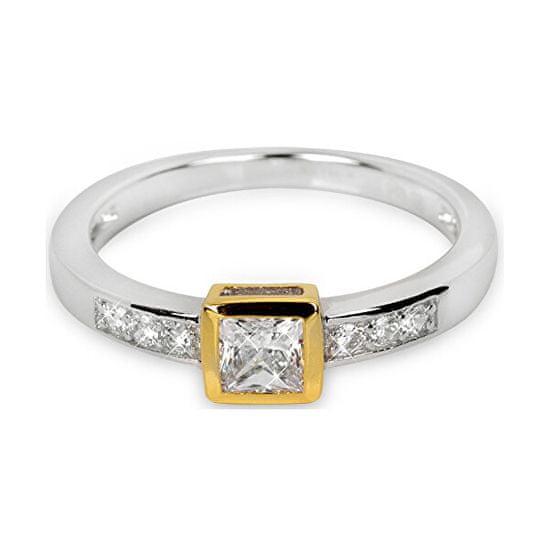Silver Cat Srebrni prstan s kristali SC166 srebro 925/1000