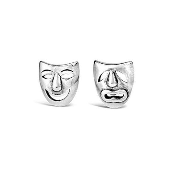 Silvego Uhani iz srebrne gledališke maske PRM11187