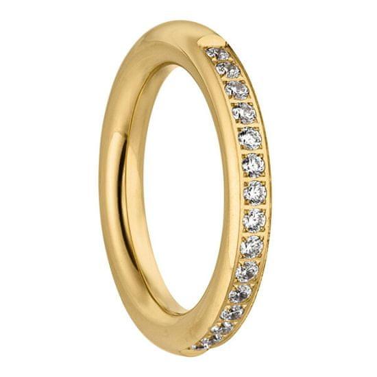 Tamaris Pozlacený prsten Emily se zirkony TJ171