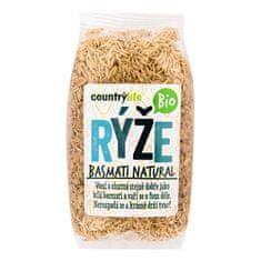 Country Life Rýže basmati natural BIO (Varianta 0,5 kg)