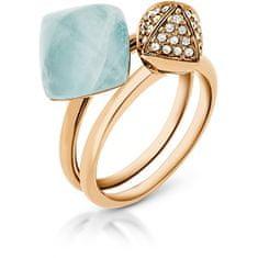 Michael Kors Sada dvou prstenů MKJ5256710 (Obvod 56 mm)