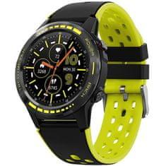 Wotchi GPS Smartwatch W70Y s kompasom, barometrom a višinometrom - Yellow