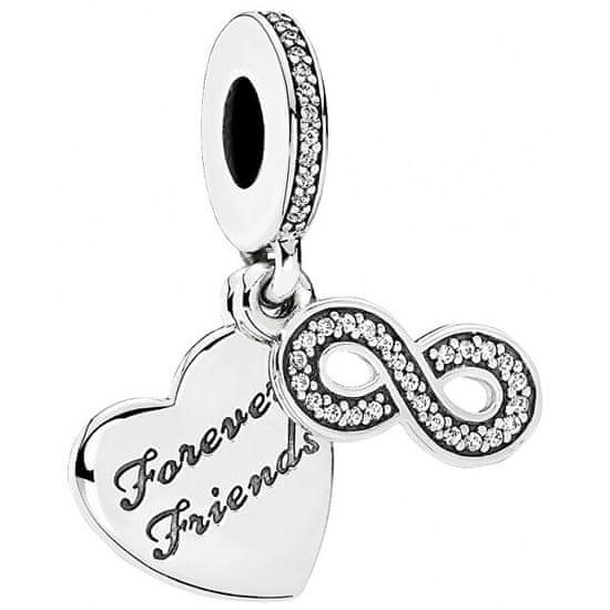 Pandora Prívesok Forever Friends 791948CZ striebro 925/1000