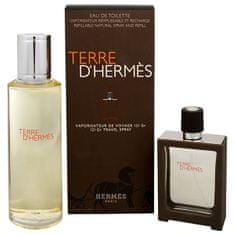 Hermès Terre D` Hermes - EDT 30 ml (plnitelná) + EDT 125 ml (náplň)