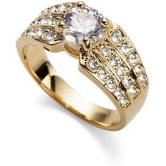 Oliver Weber Pozlacený prsten Working Inspire 41125 (Obvod S (49 - 52 mm))