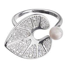 Preciosa Romantický prsten Water Lily 5194 00 stříbro 925/1000