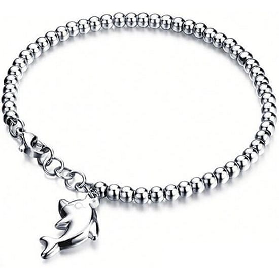 Troli bransoleta ze stali Dolphin