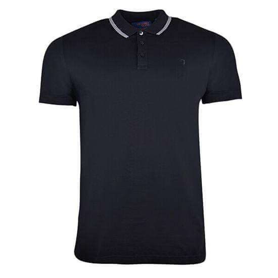 Trussardi Męska koszulka polo triko Polo Mercerized Cotton Regular Fit 52T00320-K299