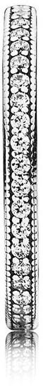 Pandora Zamilovaný prsteň s kryštálmi 190963CZ-56 striebro 925/1000