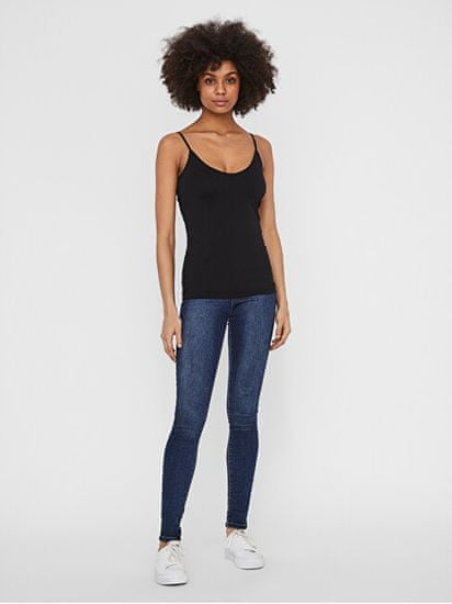 Vero Moda 4 PACK - női trikó VMMAXI 10247491 Black