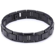 Boccia Titanium czarna bransoletka tytanu męska 0337-04
