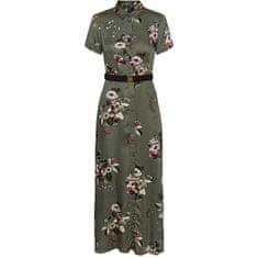 Vero Moda Dámské šaty VMLOVELY 10237257 LAUREL WREATH FLOWERS (Velikost XS)